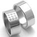Obrázek č. 2 k produktu: Dámský ocelový snubní prsten RZ08001