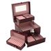 Obrázek č. 2 k produktu: Šperkovnice JKBox Bordo SP252-A10