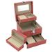 Obrázek č. 2 k produktu: Šperkovnice JKBox Pink SP252-A5