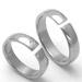 Obrázek č. 2 k produktu: Pánský titanový snubní prsten TTN3301