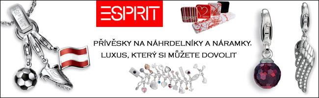 Esprit přívěsky=