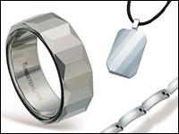 wolframové šperky