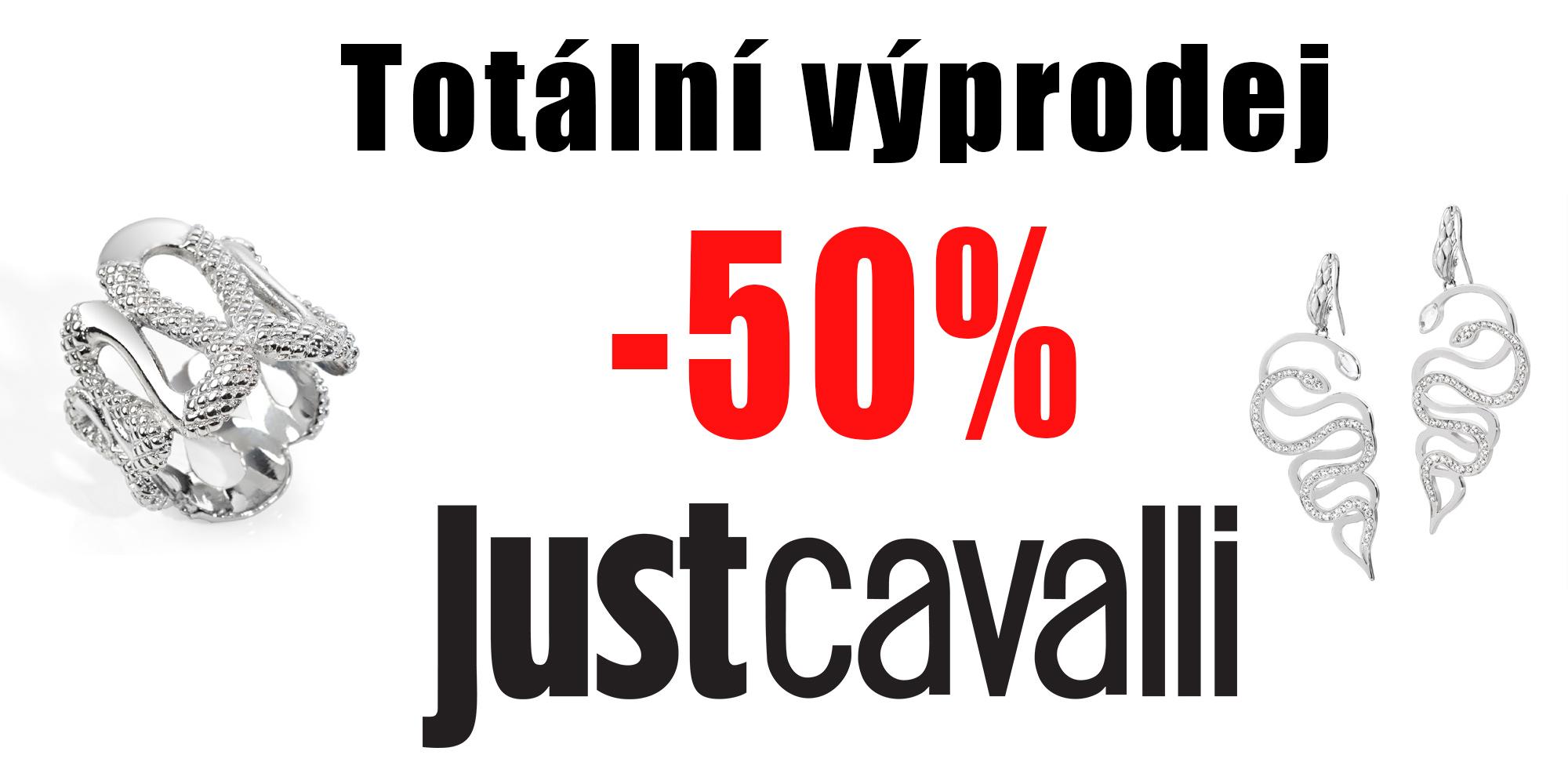 sleva 50% Just Cavalli